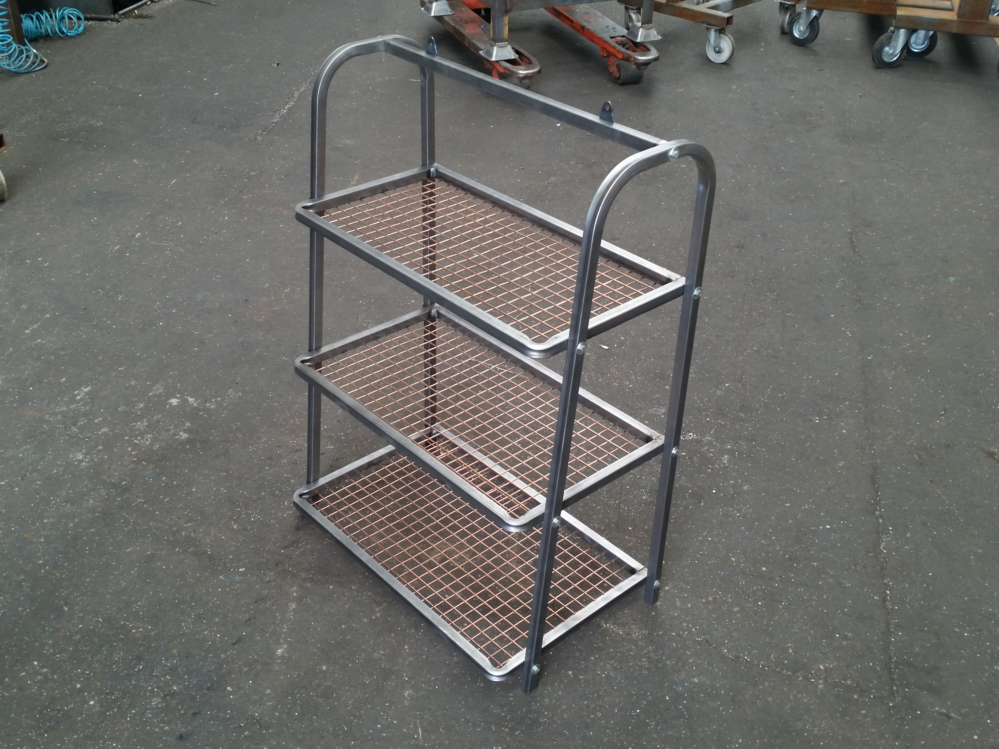 Mild steel fabrication direct fabrications for Fabrication stand